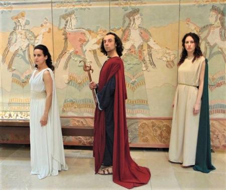 ΑΝΤΙΓΟΝΗ Σοφοκλέους  στα AΡΧΑΙΑ ΕΛΛΗΝΙΚΑ  - Μουσείο Αρχαίας Ελληνικής Τεχνολογίας Κώστα Κοτσανά